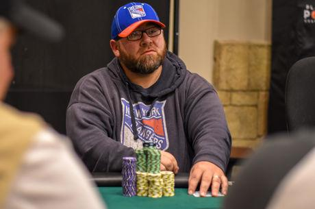 Dave Shiska Leads After Day 1 of 2018 Spring PlayNow Poker Championship