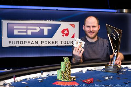 Sam Greenwood Wins PokerStars and Monte-Carlo©Casino EPT €100K Super High Roller