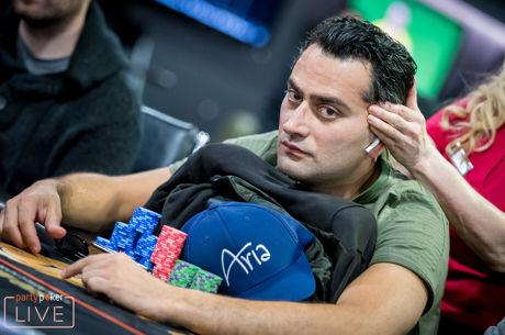 Esfandiari Near the Top of partypoker LIVE MILLIONS Main Event Day 2b