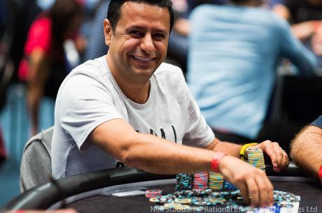 Ali Reza Fatehi führt beim PokerStars and Monte-Carlo©Casino EPT Main Event
