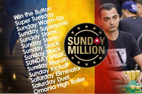 Doi romani in finala Sunday Million! Virgil Marculescu se claseaza pe 3 pentru 89.558$