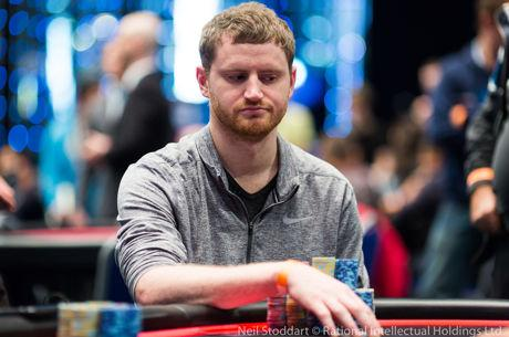 David Peters beim PokerStars and Monte-Carlo©Casino EPT Main Event vorne