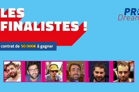 PRODream 2018 : François Tosques, Florian Ribouchon et Jonathan Therme en finale