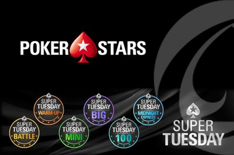chilipe22, Salvador0888 e killergod21 com Terça-Feira Gorda na PokerStars.pt