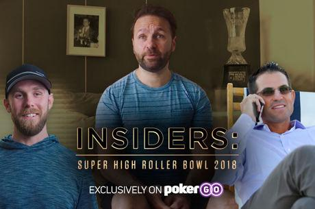 Poker Central Announces 'INSIDERS: Super High Roller Bowl 2018' Series