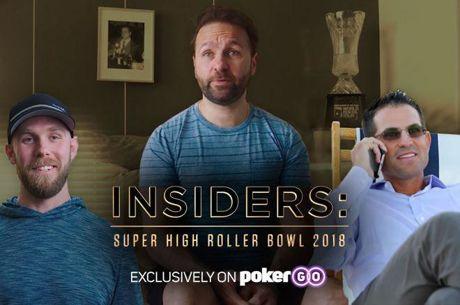 S serijo INSIDERS bomo pokukali v zakulisje priprav za Super High Roller Bowl