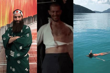 Social Media : Gus Hansen en mode degen