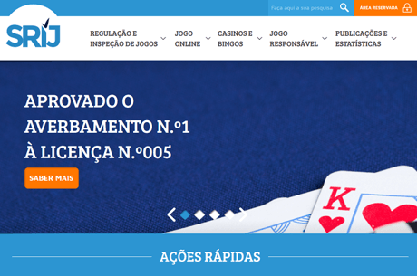 PokerStars.pt com Certificado para a Liquidez Partilhada no SRIJ