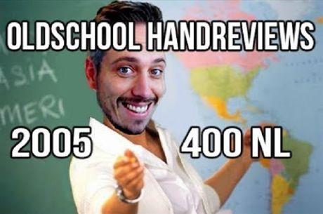 Lex Veldhuis Analisa Mãos de 2005 em NL400 (Parte 2)