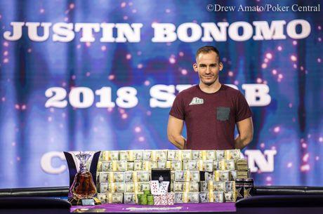 """""""Super High Roller Bowl"""" triumfavęs Justinas Bonomo susižėrė 5 milijonus dolerių"""