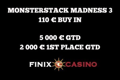 Live Updates από το Monsterstack Madness του Finix Casino