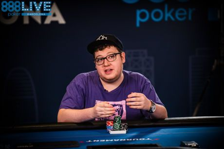 Minyan Bags 888poker LIVE Barcelona Day 1c Lead, Talbot Survives