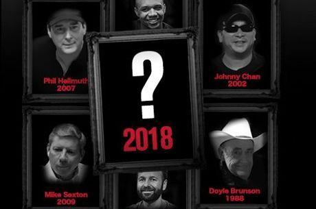 Poker Hall Of Fame: Désignez votre champion pour la classe de 2018