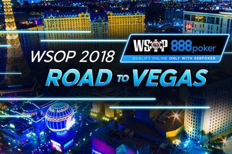 Дорога в Вегас: 888poker дает шанс прославиться на WSOP-2018