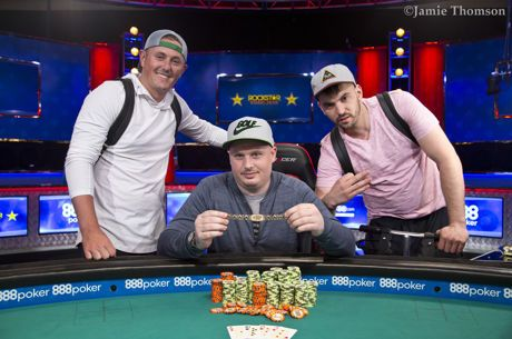 2018 World Series of Poker: Paul Volpe siegt bei Event #9