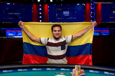 Daniel Ospina Wins First Bracelet for Colombia in 2-7 Lowball Draw