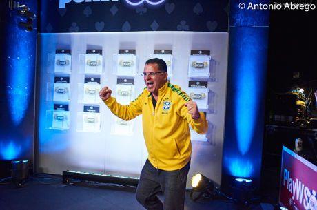 Neymar Envia Vídeo ao Campeão da WSOP Roberly Felício