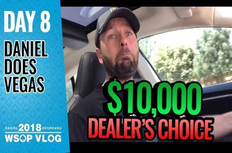 VLogs de Daniel Negreanu: Dia 8 da World Series of Poker 2018