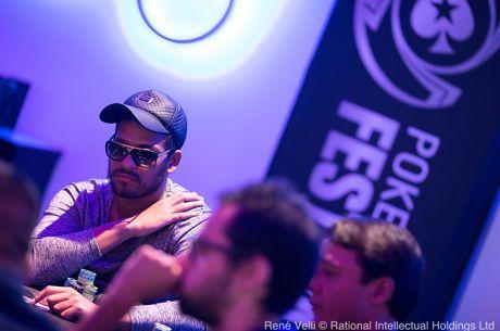 Omar Del Pino lidera con mano de hierro el PokerStars Festival Marbella