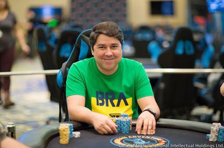 Marcos Antunes e Mais 6 Brasileiros já ITM no Marathon da WSOP