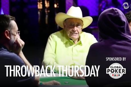 Throwback Thursday: Doyle Brunson Changes His Mind on No WSOP Events