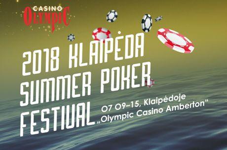 "Klaipėda ""Summer Poker Festival"" liepos 9-16 dienomis"