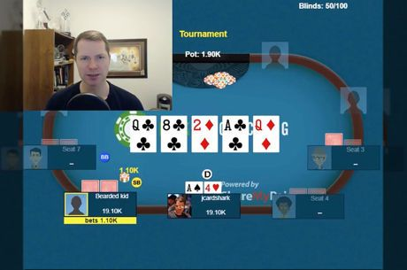 Call o Fold? Jonathan Little Trova Top Pair Al Turn, ma al River Oppo Aggredisce
