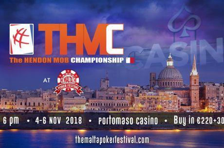 THMC : Hendon Mob organise son tournoi à Malte en Novembre