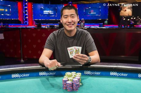 2018 WSOP Event 34: Robert Peacock Wins First WSOP Gold in $1,000 DOUBLE STACK
