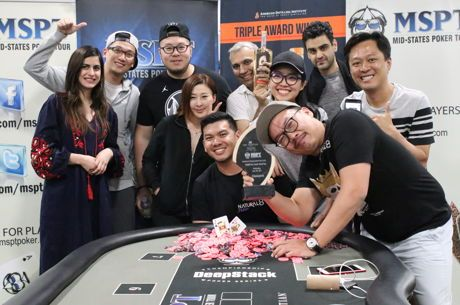 Malaysia's Michael Soyza Wins $1,600 MSPT Venetian for $588,249