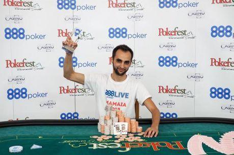 Marius Gicovanu castiga a doilea titlu national si 35.000€ la 888LIVE Mamaia