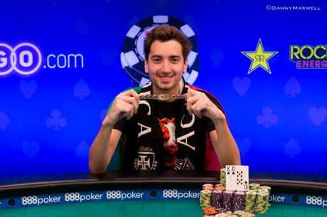 2018 World Series of Poker: Diogo Veiga siegt bei Event #54