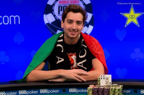 2018 WSOP (29) - Abdellatif vierde in $3.000 NLHE ($163.404), Portugees Diogo Veiga wint voor...
