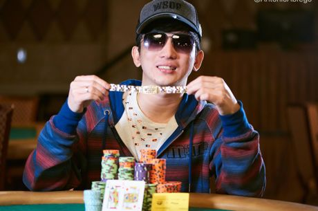 2018 World Series of Poker: Mike Takayama holt Event #59
