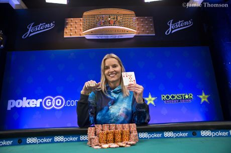 2018 World Series of Poker: Jessica Dawley siegt bei Event #57
