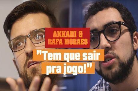 """André Akkari e Rafael Moraes Sem Filtros: """"Tem Que Sair Pra Jogo"""""""