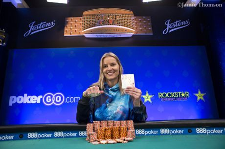 WSOP-2018: Джессика Доули выиграла женский турнир и $130,230!
