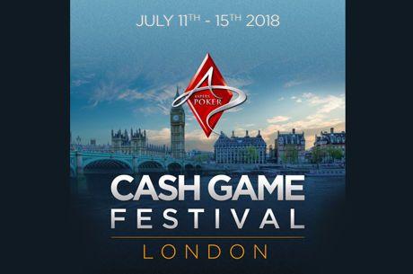 Cash Game Festival va fi intre 11 si 15 iulie la Londra