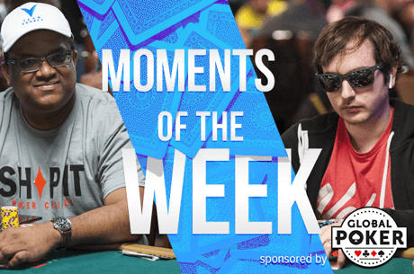 Moments of the Week: Ramdin Doubles First Hand in WSOP Main, Strelitz Hits One-Outer