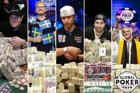 Top Ten Biggest Winners at the WSOP Main Event