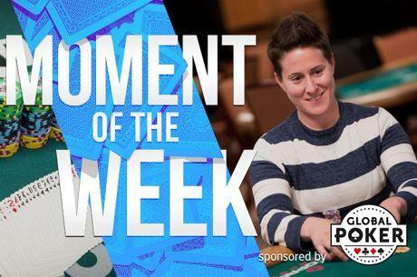 Momentul saptamanii la WSOP: Vanessa Selbst si eliminarea ei timpurie