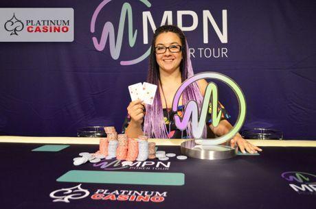 Ива Лазарова спечели MPN Poker Tour Main Event в Платинум казино за €26,900