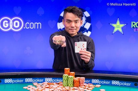 Ο Longsheng Tan κατακτά το Event #66: $1,500 No-Limit Hold'em για $323,472
