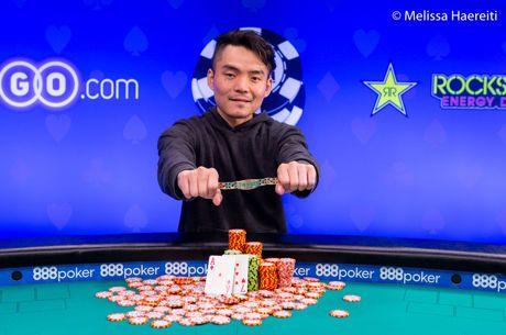 2018 World Series of Poker: Longsheng Tan gewinnt Event #66
