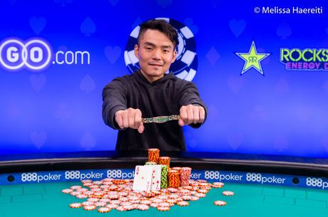 Longsheng Tan Conquista Evento #66: $1,500 No-Limit Hold'em ($323,472)