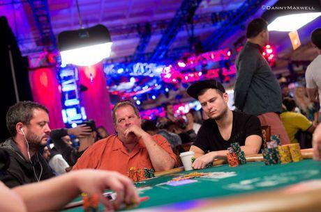 Laurynas Levinskas - 6-oje WSOP pagrindinio turnyro dienoje