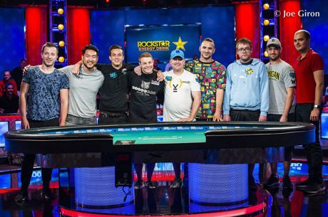 2018 World Series of Poker Main Event: Der Finaltisch steht