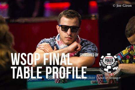 WSOP Main Event Final Table Profile: Artem Metalidi