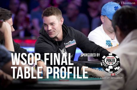 WSOP Main Event Final Table Profile: Tony Miles