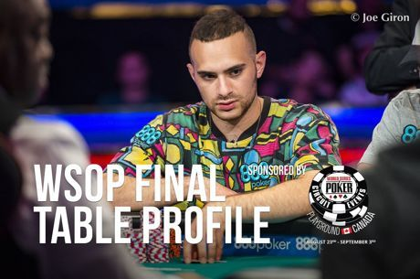 WSOP Main Event Final Table Profile: Aram Zobian